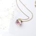 ヒメツルソバのプチネックレス14kgf(誕生日プレゼント, 無料ギフトラッピング, メッセージカード, 送料無料)