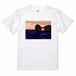 円月島のTシャツ(ホワイト)