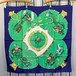 HERMES CARRES90 PAMPA LARGE SIZE SILK 100% SCARF MADE IN FRANCE/エルメスカレ90シルク100%大判スカーフ(大草原)
