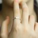 Silver 925 matte ring シルバー 925 マット リング