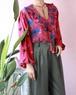 Diane Freis pink blouse