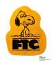 FTC x PEANUTS® SNOOPY RUG MAT -GOLD-