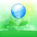 地球 新芽 イラスト