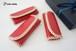 革編みのキーケース(濃ピンク)