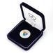 [限定]純銀XEMシルバー・七宝入り Pure Silver XEM Coin with Cloisonné