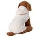 【送料無料】  犬服(ドッグウェア) ペット服 ふわふわニット パーカー シンプル無地 アイボリー