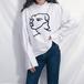 【お取り寄せ商品】フェイスプリントシャツ 8329