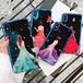 ドレス 女性 綺麗 iPhone シェルカバー ケース レッド ブルー パープル オレンジ 可愛い ★ iPhone 6 / 6s / 6Plus / 6sPlus / 7 / 7Plus / 8 / 8Plus / X ★ [MD409]
