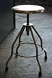 40-50's Medical Metal Stool/Table