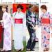京都本格女性浴衣4点フルセット
