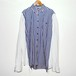 『Maldoror』over sized combination shirt