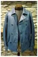 Porter Classic - Sheep Leather Double Jacket - Blue