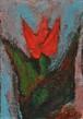 チューリップ(アクリル絵画)