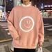 【トップス】韓国系ファッション長袖プリントラウンドネットメンズパーカー27018900