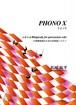 M2001 PHONO X(Percussion solo/M. MATSUO /Full Score)