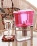 ガイアの水135 ポット型浄水器 ピンク(ビビアン・クラブウォーター)