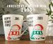 【期間限定】シマエナガのクリスマスマグカップ2015