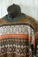 パッと見でわかる秋冬らしい雰囲気も素敵!フェアアイル柄セーター RankC☆アメカジファッション