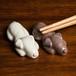 ジャックラッセル 陶器の箸置き(ペア)