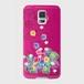 【Galaxyシリーズ】Tropical Pink トロピカル・ピンク ツヤありハード型スマホケース