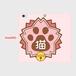 手帳型スマホケース Lサイズ(iPhone・Android対応) 【にゃんこ学園校章】