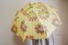 黄色地に花火みたいなお花が咲いた日傘