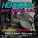 HOTSQUALL 6ピースキャップ SIZE FREE