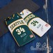 「NBA」シアトル ソニックス 2007-08シーズン 復刻ジャージ レイアレン サイン入り iPhoneX iPhone8 ケース