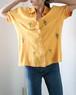 pine & palm tree yellow shirts