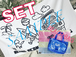 RE:OMG バスタオル ステッカー付+ビーチバック(送料込)