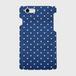 【名入れ可】iPhoneケース・スマホカバー(木目・マリンドット柄・青系) 側表面印刷スマホケース iPhone7 ツヤ無し(マット)