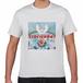 TONYBAND Tシャツ(白) エロ×世界平和=トニーバンド