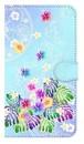 【鏡付き Mサイズ】Rainbow Paradise レインボー・パラダイス 手帳型スマホケース