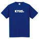 KYUS+ ドライシルキー 半袖Tシャツ