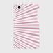 【名入れ可】iPhoneケース・スマホカバー(白木目・マリンボーダー・赤系)側表面印刷スマホケース 側表面印刷スマホケース iPhone7 ツヤ無し(マット)