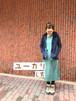 【kao】メリノウールワンピース L丈(ロング丈)