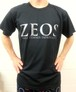 第1弾  ZEOS卓球スタジオ限定Tシャツ  黒×銀