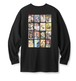 FTC / KANG FU ACTION THEATRE L/S T-SHIRT -BLACK-
