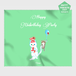 【HappyUnbirthday!バルーンアート】マイクロファイバークロス