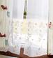 カラフル 刺繍 レースカーテン  Chester チェスター 002312 OR