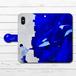 #014-001 手帳型iPhoneケース 手帳型スマホケース 全機種対応 iPhoneX おしゃれ シャチ 海 Xperia iPhone5/6/6s/7/8 動物 綺麗 Galaxy ARROWS AQUOS HUAWEI Zenfone タイトル:少年とシャチ 作:しゅり