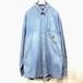 【CHAPS Ralph Lauren】Denim long-sleeved shirt
