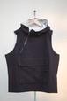 Unisex's / cotton VEST with hood