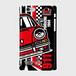 ノスタルジックカー・ポルシェ911(1964) 側表面印刷スマホケース iPhone6/6s ツヤ有り(コート)