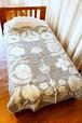 VILLIKUKKIA blanket (130×180cm) / LAPUAN KANKURIT