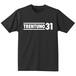 TRENTUNO31 Organic T-shirts S/S Black