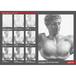 石膏デッサン制作プロセスポスターNo.1ヘルメス