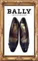 BALLY 黒パンプス 4E