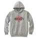 ERICH / HEXAGRAM LOGO HOODED SWEATSHIRT GRAY