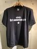 RAKUGAKI 1ST ANNIVERSARY T-Shirts CARBON BLACK